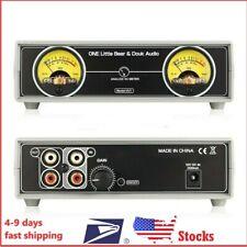 Vu Meter Dual Analog Panel Db Audio Sound Level Display Indicator Amplifier Mic