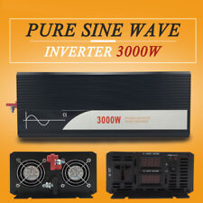 Pure Sine Wave Power Inverter 3000W(Peak6000W) DC 12V/24V/48V  to AC120V/220V