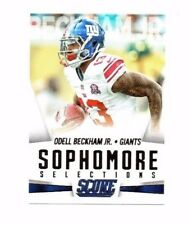 Odell Beckham Jr. 2015 Panini Score, Sophmore Selections, Football Card !!