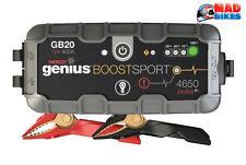 NoCo Genius Lithium Battery Jump Starter Pack GB20 Motorbike / Boat 12V 400A
