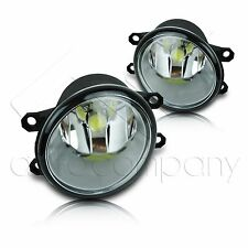 12-15 Tacoma Fog Lights w/Wiring Kit & High Power COB LED Bulbs - Clear