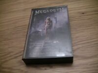Megadeth Countdown To Extinction Audio Cassette Tape
