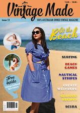 Vintage Made Magazine Issue 12 At The Beach + Free Skirt Pattern Inside