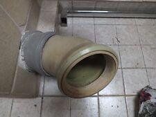 WC Anschluß Rohr Verbindung fürToilette Stutzen Anschlußrohr Grün Antik Dichtung