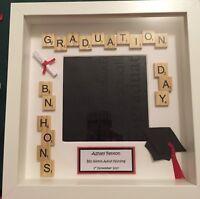 Graduation Frame Personalised. Graduation Day Gift