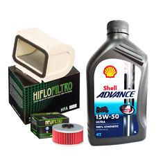 Kit tagliando Shell Advance Ultra 15W50 filtro olio aria Yamaha XJ 900 F
