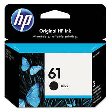 Genuine OEM HP 61 Black Ink Cartridge (CH561WN) 4500 4502 4504 5530 1000 3516