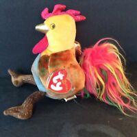 TY Zodiac BEANIE BABY Plush  Toy ROOSTER Decoration