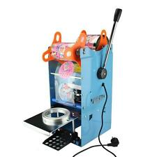 WY-802F Manual Tall-cup Sealing machine for Bubble Tea ,Fruit Juice 220V New Y
