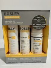 BOSLEY BosDefense Starter Pack For Color-Treated Hair 100-150ml New