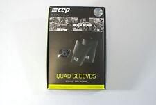 CEP Sportswear Dynamic+ Quad Sleeves Size III Medium Unisex Black