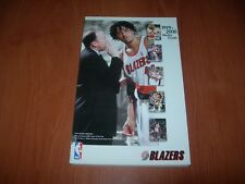 PORTLAND TRAIL BLAZERS 99/00 NBA MEDIA GUIDE