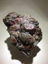 Red Calcite Crystals, Santa Eulalia, Mexico