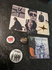 R.E.M. Vintage Promo Magnet Rem & Stickers Alt Rock Music Band Blur Reservoir do