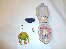 Mighty Max Horror Heads Zomboid 100% Complete Set Playset Bluebird Toys