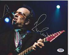 ELVIS COSTELLO Signed 8 x10 PHOTO with PSA/DNA COA
