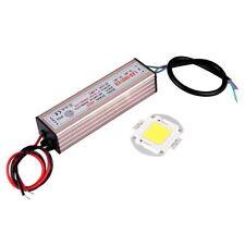 50W High Power Weiss LED Lampe + Treiber Adapter Driver Licht Leucht Birne GY