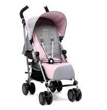 Silver Cross Pop Vintage Pink & Grey Stroller Pram Buggy Pushchair Lightweight
