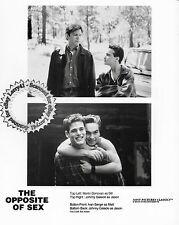 Lot of 2, Johnny Galecki Lisa Kudrow stills THE OPPOSITE OF SEX (1998) Don Roos