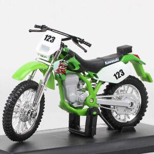Maisto1:18 Kawasaki KLX250SR #123 Enduro Bike Dirt Diecast Motorcycle Model Toy