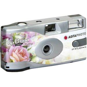Agfa Le Box Wedding - Single Use Camera with Flash - Pretty Wedding Design
