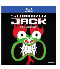SAMURAI JACK - COMPLETE SERIES 1 2 3 4 5 -  BLU RAY - Sealed Region free