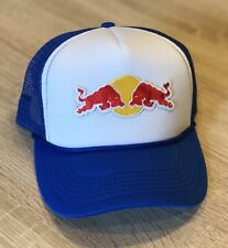 Red Bull Trucker Hat Cap BK Brand Embroidered Patch Style Racing Adjustable