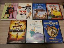 Disney Dvd Lot Assorted Titles