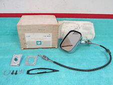 1973-79 CHEVY NOVA  X-BODY  LH  OUTSIDE  REMOTE CONTROL  MIRROR   NOS GM 317