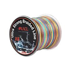 Runcl Braided Fishing Line With 8 Strands, Ultra Strong Braided Line Zero Stretc