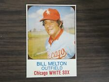 1975 Hostess Cup Cakes #8 Bill Melton Card Chicago White Sox (B67)