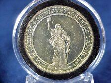 1895 GERMANY - OTTO VON BISMARCK 80th Birthday SILVER MEDAL
