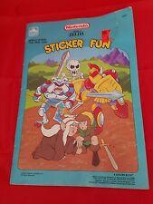 Nintendo Legend of Zelda Sticker Fun book 1989 vintage NES