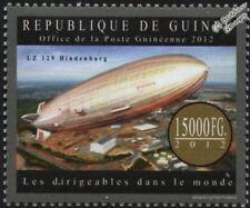 Luftschiff zeppelin LZ.129 HINDENBURG DIRIGEABLE AVION TIMBRE (2012-Guinée)