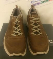 ECCO LIGHT III Foster Lace Shoes US 12-12.5 EU 46 Camel/Cocoa 810564 56929 NEW!