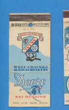 "Skaal Dovre Ski Bindings ""Used by Champions"" - Vintage Matchbook Cover"