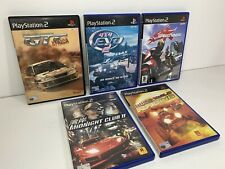 PS2 Retro Bundle Job Lot Racing Games x5 Speed Kings Midnight Club Wild Wild