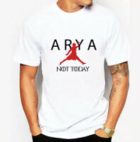 ARYA NOT TODAY T-Shirt GoT Stark Bye Night King Game of Thrones jordan jumpman