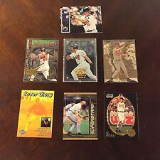 ~7 Baseball Card Lot CAL RIPKEN JR Baltimore Orioles Topps Fleer trading +MORE!~