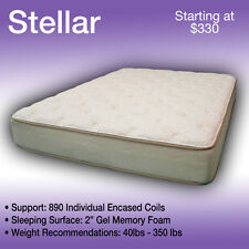 38 x 80 STELLAR----LUXURIOUS TRUCK MATTRESS----FITS ANY MAKE AND MODEL