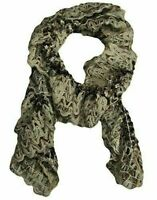 Charter Club Women's Chenille Elastic Ruffle Scarf, Wheat (Brown / Beige)