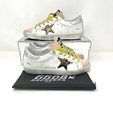 Golden Goose SUPERSTAR FLG-WHITE-FLOWER LIMITED Sneakers 37