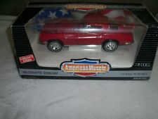 ERTL American Muscle 1963 Chevy Corvette Sting Ray Coupe 1:18 Scale Diecast Car