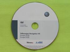 DVD NAVIGATION VX EUROPA 2014 V12 VW RNS MFD DVD RN S2 PASSAT GOLF CADDY TOUAREG