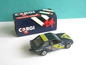 1 x CORGI TOYS (1985) DIECAST.  FORD ESCORT CAR. 1/64 SCALE. BOXED.