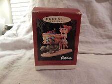 "Hallmark Keepsake Ornament ""Betty and Wilma"" Flintstones 1995"