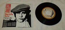 "1979 VG/VG Sleeve/Record ""Mama Can't Buy You Love"" Elton John 45 RPM MCA-41042"