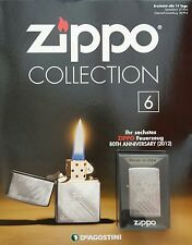 Zippo Collection nº 6 80th Anniversary (2012) tormenta fuego cosas never fired!!!