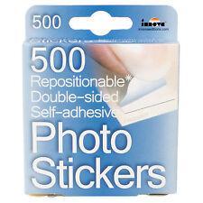 500 sans acide Photo Album Autocollants double face photo adhésif Scrapbook