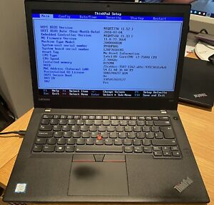 Lenovo Thinkpad T470 i7